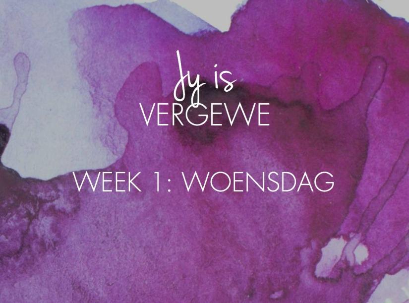 week-1-woensdag